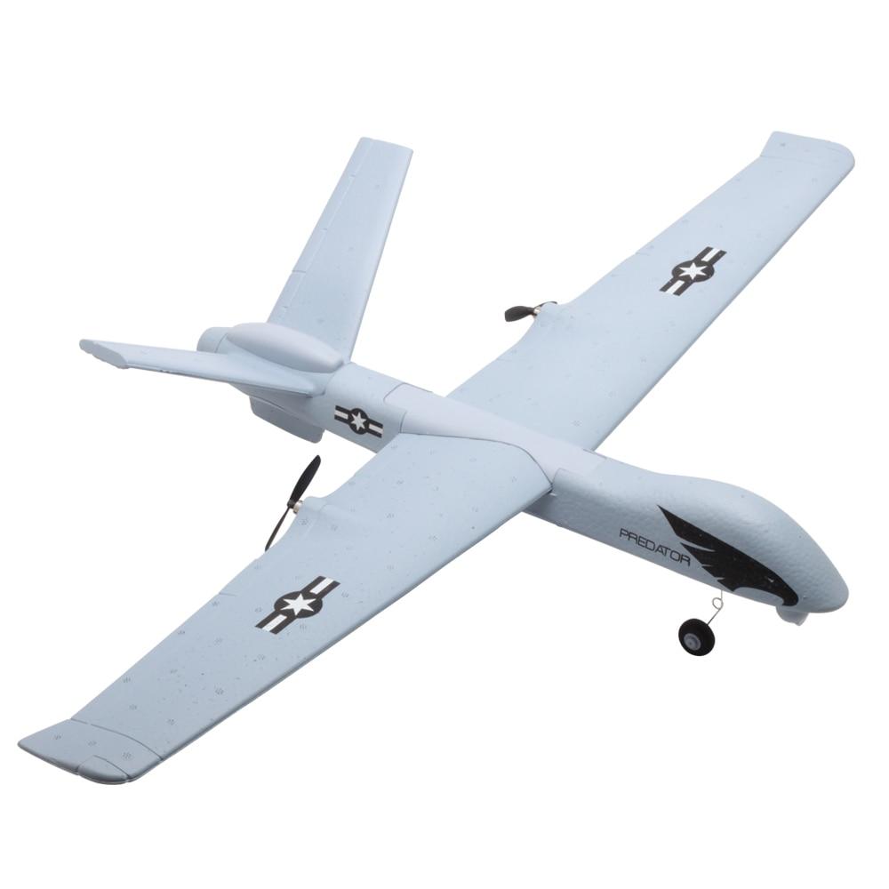 Avion RC 20 Minutes temps de vol planeur jouet avion avec LED 2.4G télécommande main lancer envergure enfants RC Jet avion mousse 5