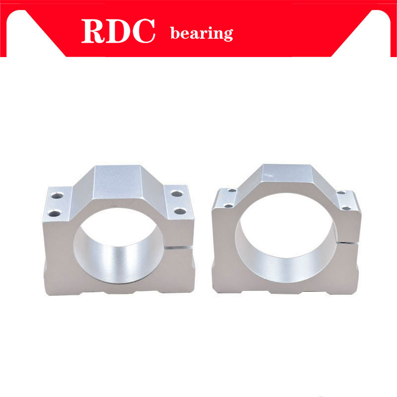 45 80mm Spindle Motor Bracket 400 500W Aluminum Mold Diameter Mounting Clamp With 4 Screws For Engraver Spindle Milling Machine hot sale spindle bracket motor mounts inner diameter 80mm spindle motor clamp fitted seat with 3pcs screw