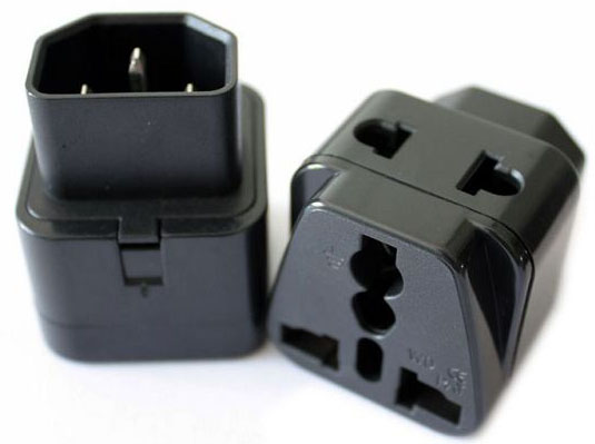 NEW AU UK EU to US AC Power Plug Adapter Converter Outlet Home Travel Wall TN