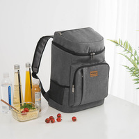 New 900D Oxford Thicken Big Cooler Bag Waterproof Back Pack Insulated Bag Large Capacity Dry Ice Pack Travel Organizer Food Bags