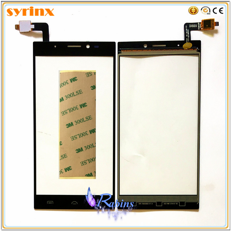 5.5 Inch Phone Touchscreen Sensor For Doogee F5 F 5 Touch Screen Digitizer Touch Panel Front Glass TouchPad 3M Stickers