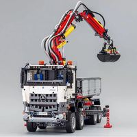 DHL 3245pcs 20005 the legoinglys engineering series 42023 Arocs Model Building Block Bricks Compatible with Boys Toys Gift