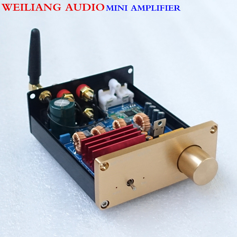 WEILIANG AUDIO & Breeze Audio TPA3116 2.0 amplifier with bluetooth 4.0BT10A weiliang audio
