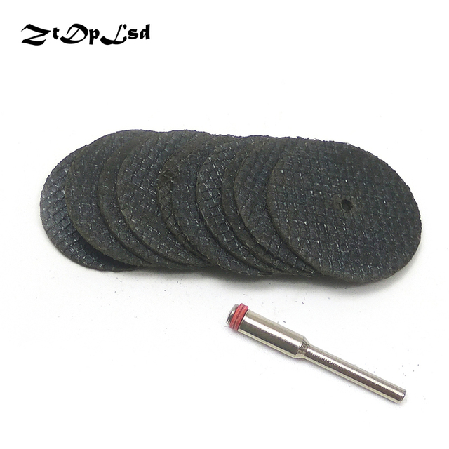 ZtDpLsd 10Pcs 32/38MM Metal Cutting Disc Dremel Grinder Rotary Tool Circular Saw Blade Wheel Cutting Sanding Disc Grinding Wheel