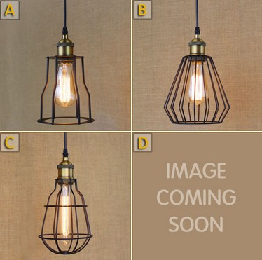 Edison Loft Style Iron Pendant Light Industrial Vintage Lighting For Dining Room Bar RH Hanging Lamp Lamparas Colgantes iwhd loft style round glass edison pendant light fixtures iron vintage industrial lighting for dining room home hanging lamp