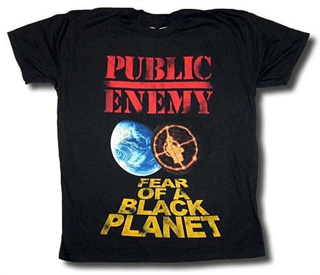 f2685cad 2018 Hot Sale New T Shirt PUBLIC ENEMY Fear Of A Black Planet Distressed T-