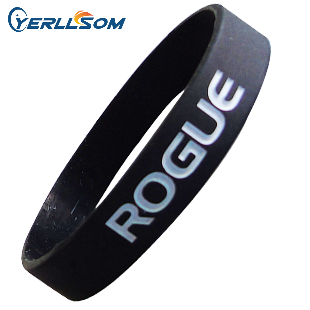 100pcs Lot High Quality Custom Personalized Rubber Bands for promotional gifts Y060318