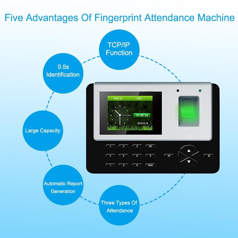 Eseye Biometric Fingerprint Time Attendance System TCPIP USB Fingerprint Door Access Control System Time Clock Employee Machine Eseye Biometric Fingerprint Time Attendance System TCPIP USB Fingerprint Door Access Control System Time Clock Employee Machine