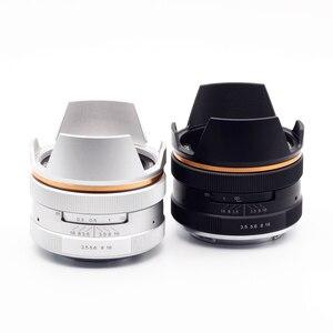 Image 2 - เลนส์มือหมุน kaxinda 14 มม.F3.5 เลนส์มุมกว้างมุมกว้างสำหรับเลนส์สำหรับ Sony Fujifilm Olympus Canon Panasonic Mirrorless กล้อง F/3.5