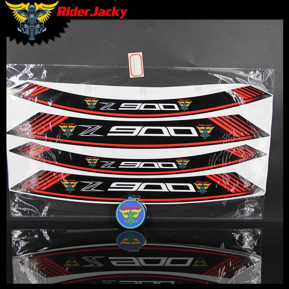 z1000 sx z 8 x Kawasaki Z1000SX wheel rim stickers decals choice of colour