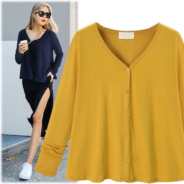 5xl Plus Big Size Sweater Women Spring Autumn Winter 2017 Feminina Thin Pure Color Outside Loose Knit Sweaters Female Y0398