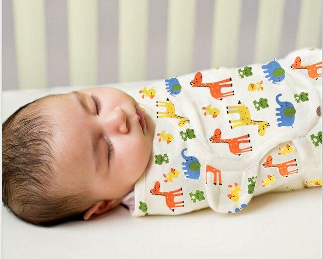 Качество Хлопок Детские Младенческой Новорожденных Baojin Мягкий Удобный Спальный Мешок Анти Tipi теплые Сумки 1 шт.