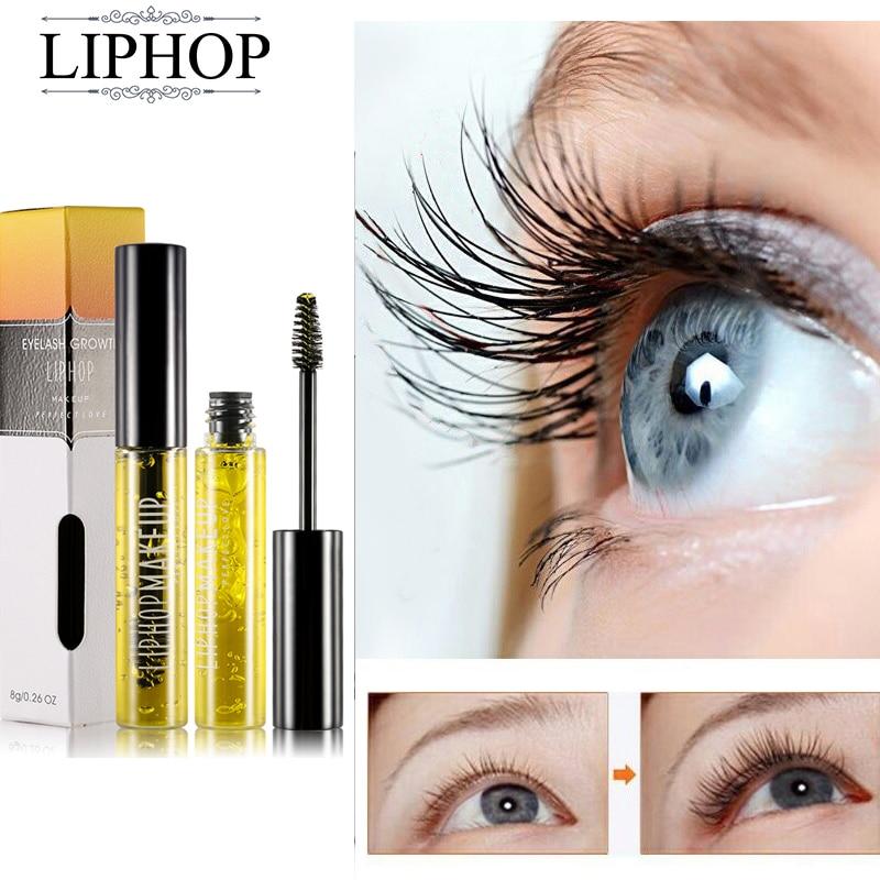 liphop makeup perfect love - LIPHOP Brand Powerful Eyelash Growth Treatments Liquid Eye lash Serum Makeup Enhancer Longer Thicker Grow In 28 days 8ml