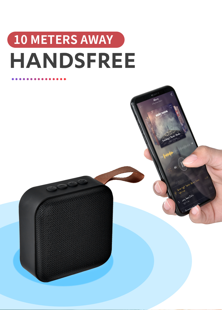 Portable Bluetooth Speaker Loudspeaker