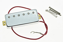 KAISH Chrome LP Guitar Mini Humbucker NECK Pickup Ceramic Pickups for LP