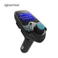 Car Mp3 Player Wireless Bluetooth Fm Transmitter FM Modulator HandsFree Car Kit A2DP 5V 2 1A
