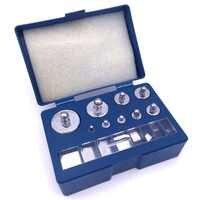 17 pièces Précision Jeu de Poids D'étalonnage 10 mg-100g Grammes Échelle pour Mini Précision Numérique Échelle de Poids Numérique balance