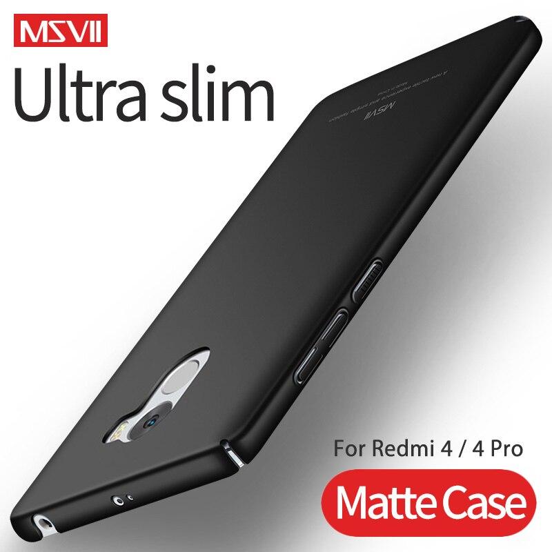 MSVII Case for Xiaomi Redmi Ultra-Slim 4-Pro Matte-Cover Hard-Pc Lightweight