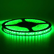 With DC socket Green color SMD3528 LED strip Non-waterproof 300 led 5meter/roll 60led/meter for indoor only with free shipping