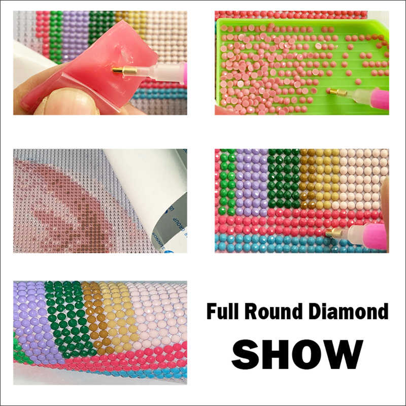 "DIY 3D Diamond Embroidery,Cross Stitch,""koi carp fish"" Full Square Round Diamond Painting,Home Decor"