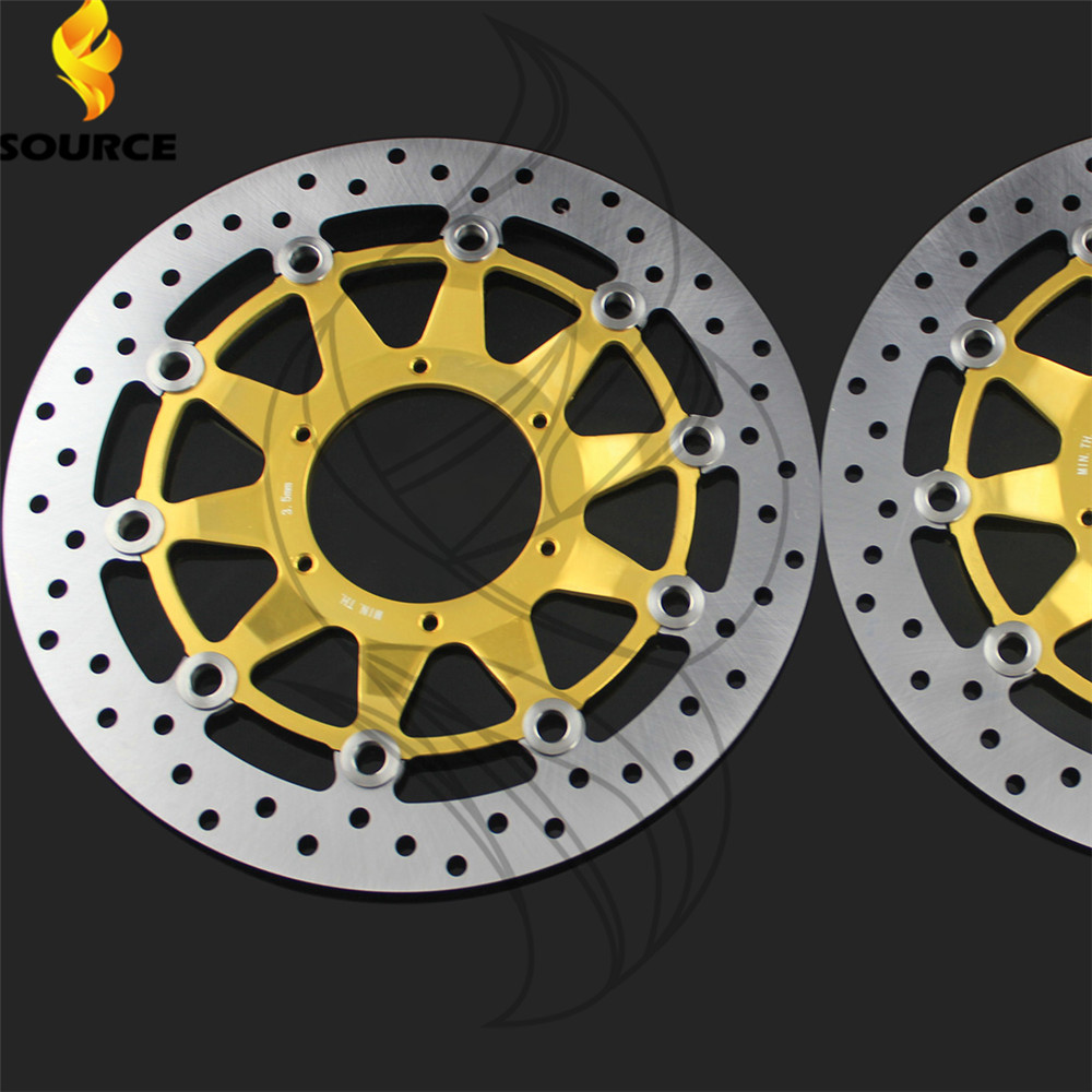 motorcycle Aluminum alloy  & Stainless steel Front Brake Disc Rotor For Honda CBR1000RR 2006 2007 2008 2009 2010 2011 2012 arashi motorcycle radiator grille protective cover grill guard protector for 2008 2009 2010 2011 honda cbr1000rr cbr 1000 rr