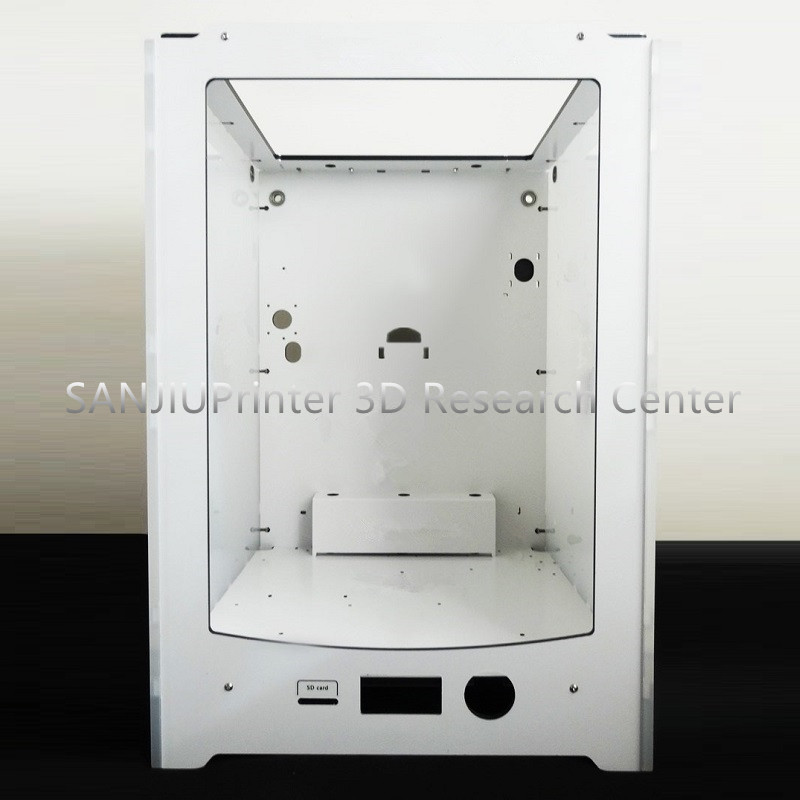 SANJIUPrinter3 Extended Compatible Ultimaker2 UM2 Extended Frame Aluminium-plastic + Acrylic Box Shell Case DIY KIT Accessories