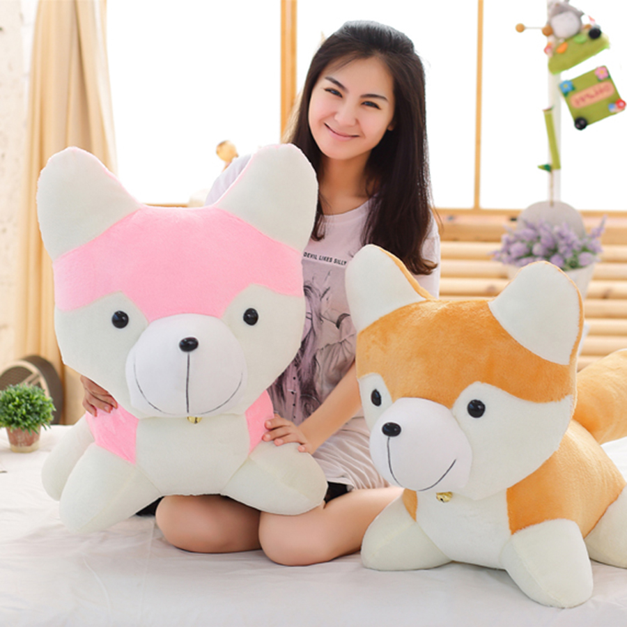 Cute Husky Plush Toy Kawaii Dog Baby Sleeping Appease Doll Kids Birthday Gifts Peluches De Animales Puppy Plush Toy 70C0115
