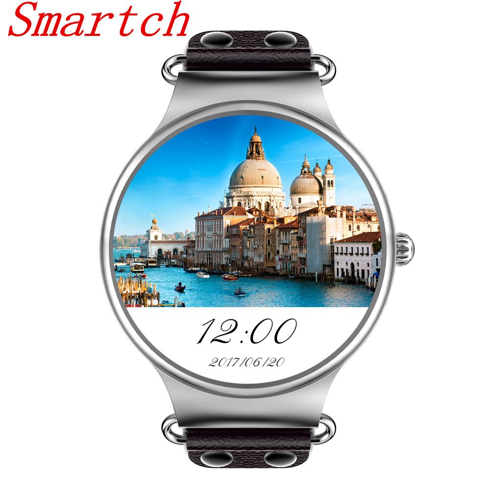 Smartch KW98 Smart Watch Android OS 5.1 With Google Play Store Weather Heart Rate Monitor Wifi GPS Smartwatch IOS PK KW18 KW88 smartch kw18 heart rate smart watch bluetooth smartwatch sim watch compatible for apple ios android