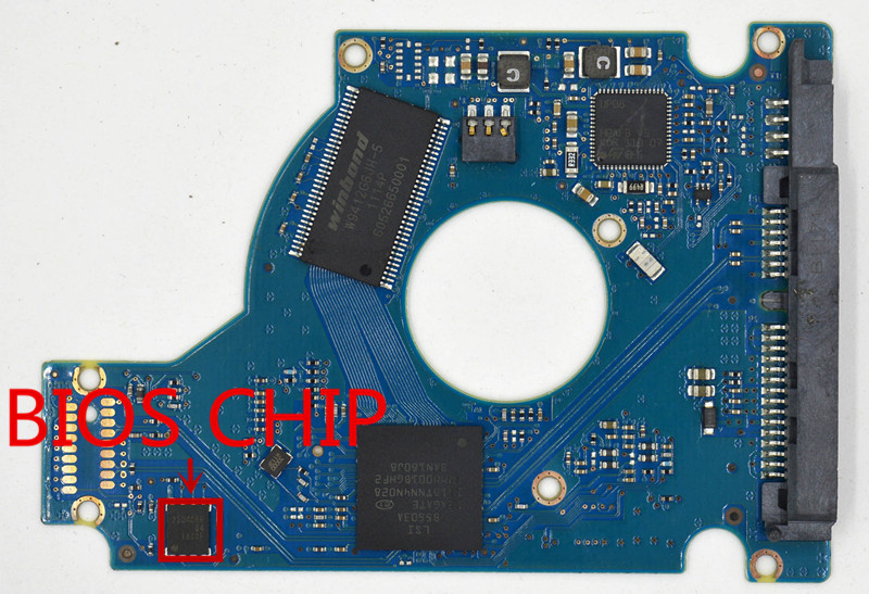 ST9320325AS ST9500420AS HDD PCB for Seagate/Logic Board/Board Number:100565308 REV A