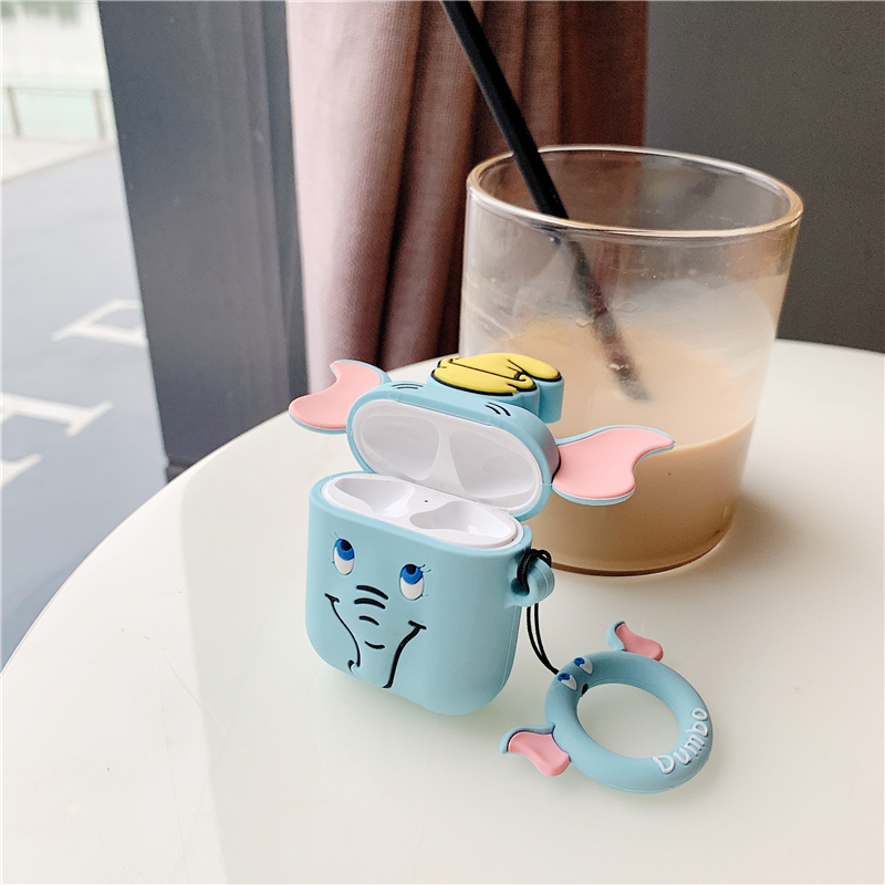 Cute Elephant AirPod Case 4