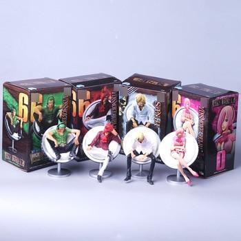 Figuras de la familia Vinsmoke de One Piece (11cm) Figuras de One Piece Merchandising de One Piece