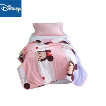 New Comfortable 100% Cotton Cartoon Printing Summer AirConditioner Cool Thin Quilt Home Textile Bedding Comforters Duvets minnie