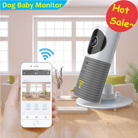 FUERS Dog Wireless Baby Monitor 720P Security Night Vision Baby Camera Motion Detection Two Way Audio Baby Video Nanny