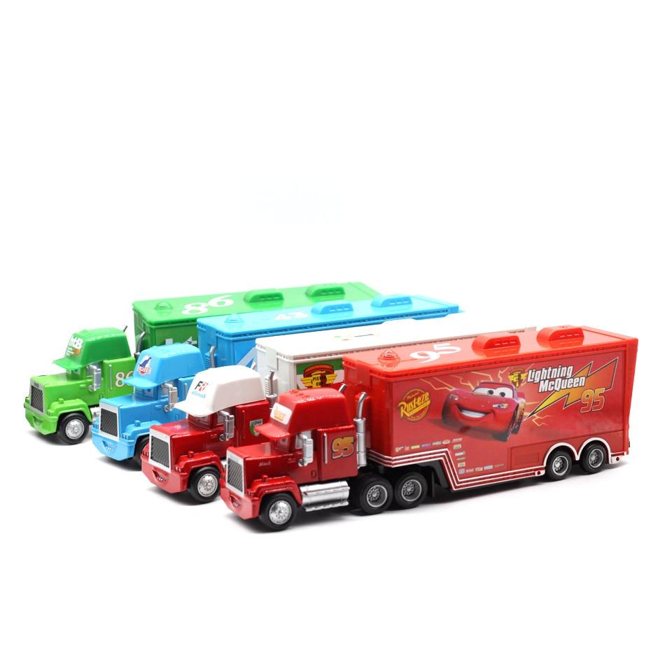 Disney Pixar Cars 4 Styles Mack Truck McQueen Uncle 1:55 Dyscast - Bilar och fordon - Foto 3