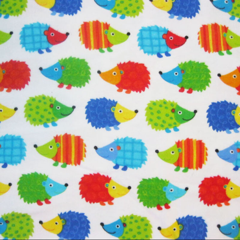 110x50cm1pc flannel fabric 100 cotton flannel fabric for Cheap baby fabric