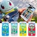 Покемоны Идти Pokeball Цель Помочь Руководство Взгляд Мягкий Силиконовый Чехол Case для iPhone 6 6 s 6 + Плюс, Для Galaxy S7 Note 7 Прицел крышка
