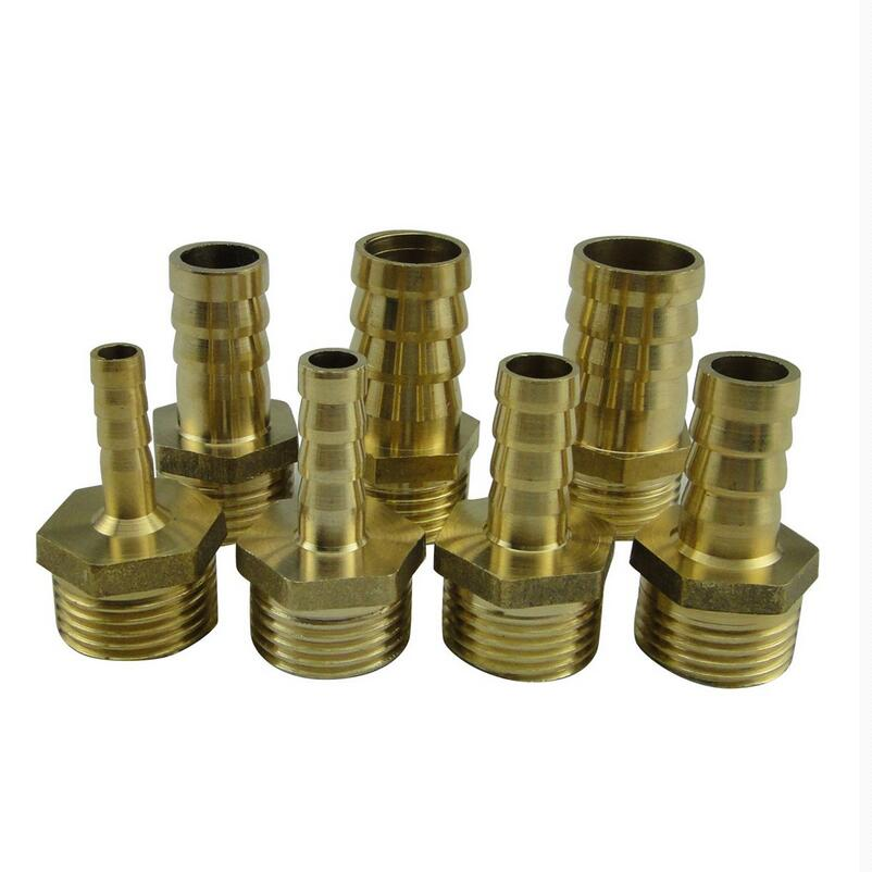 Mm to bsp male thread copper pagoda joint adapter
