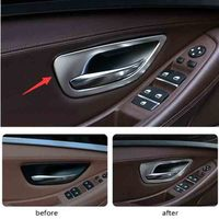 Inside the car sector shake handshandle decorative light box For BMW F10 520i 525i 528i 2011 2012 2013 2014 2015