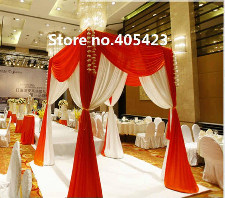 Red And White Color 1824m Wedding Decoration Square Pavilions