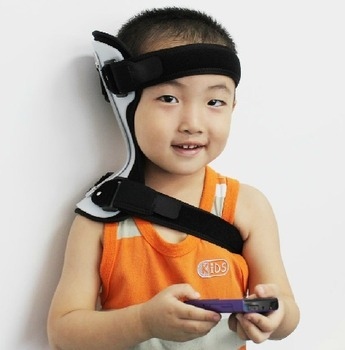 Ober infant orthosis remedical collar child Pediatric orthotics correct head and neck torticollis