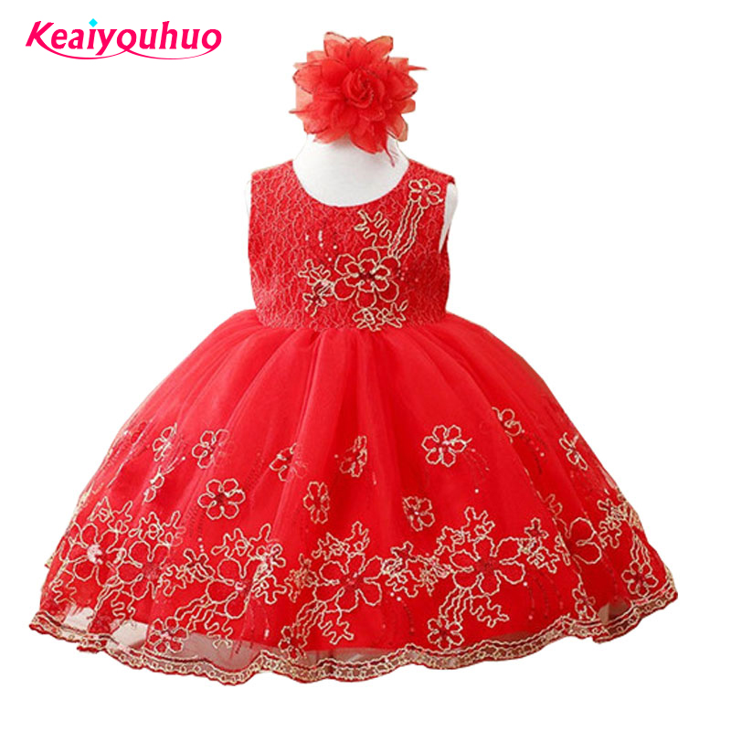 2017 Baby Girl Party Dress Children Clothing Formal Evening Prom Dress Princess Dresses Girls Clothes Kids Flower Wedding Gown 3 12year wedding dress baby kids girl clothes children clothing girls cute princess party dress winter dresseses causal dress