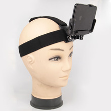 Para iPhone Samsung Huawei xiaomi smartphone para escalada ciclismo Universal soporte de clip para teléfono con pecho Gopro cinturón/correa de cabeza