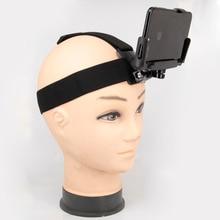 עבור iPhone סמסונג Huawei xiaomi smartphone עבור טיפוס רכיבה על אופניים אוניברסלי טלפון קליפ מחזיק עם Gopro חזה חגורה/ראש רצועה