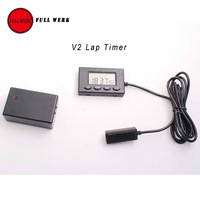 1 Set V2 Plastic Motorcycle Lap Timer And Beacon Outdoor Motor Racing With Cable 1 Interval