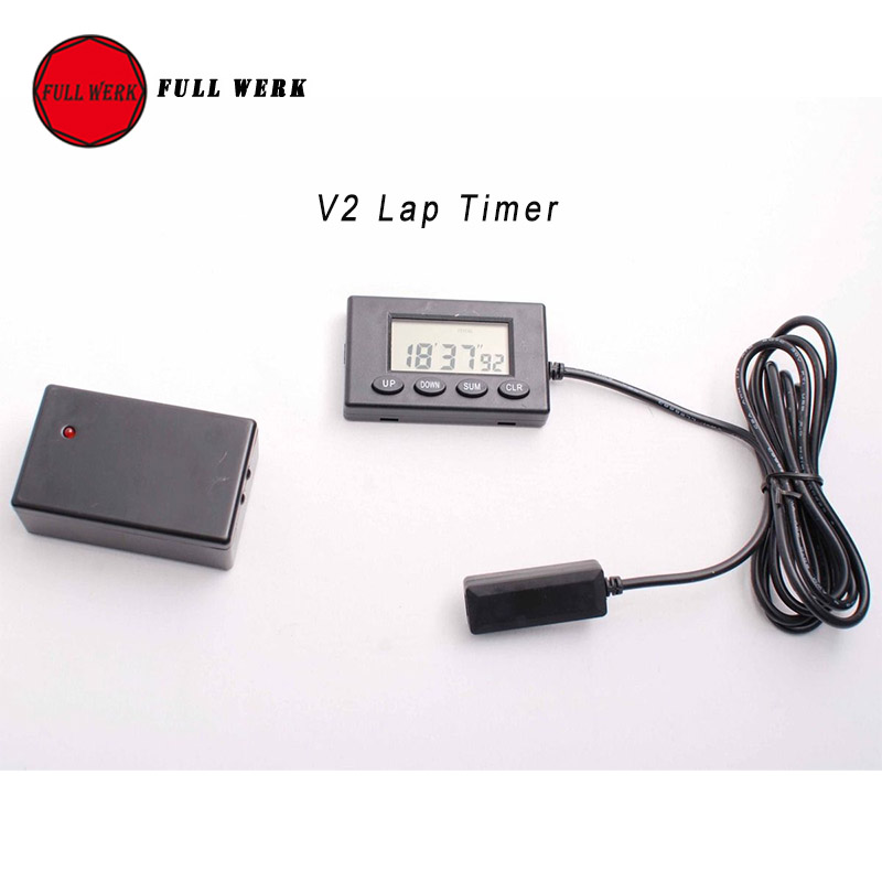 1 Set V2 Plastic Motorcycle Lap Timer Outdoor Motor Racing Track Infrared Ultrared Tool Device Lap Time 1 Second Interval Time сергей рахманинов элегия