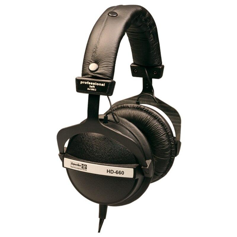 Brand New Originale Superlux HD660 Professionnel Audio Surveillance Fermer Dynamique Isolation Du Bruit Casque DJ HiFi Stéréo Casque