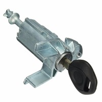Left Driver Door Lock Assembly Key Cylinder Barrel Repair Kit For BMW X5 E53