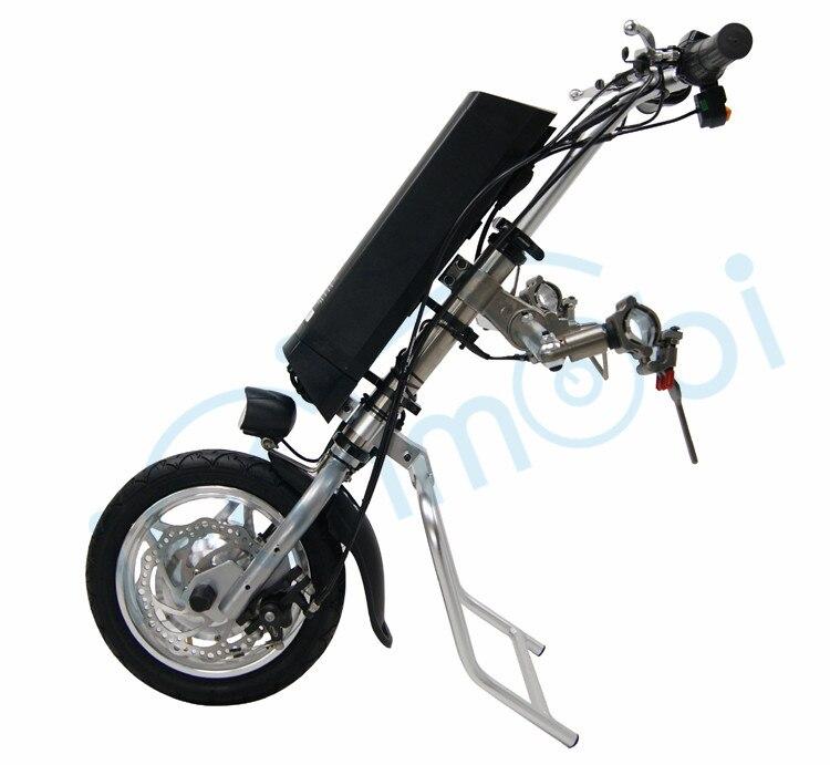 Ifunmobi 36 V 250 W Kit de Conversion bricolage vélo à main électrique avec batterie Li-ion 36 V 9AH