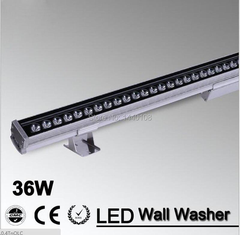 цена на 36W LED Wall Washer Light RGB/W/R/G/B/Y/WW 85-265V Epistar Chip 50000h CE RoHS