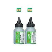 2 pó de toner preto + 2chip ce310a 126a ce310 cartucho de toner para hp laserjet pro cp1025 m275 100 cor mfp m175a m175nw impressora Cartuchos de toner    -
